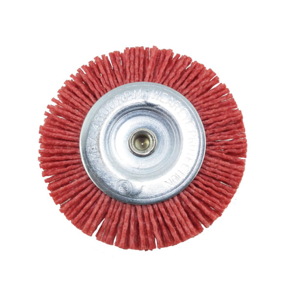 BERG 3 inch synthetic round wire brushD 4