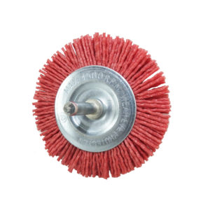 BERG 3 inch synthetic round wire brushF 13