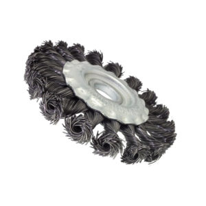 BERG 4 inch braid wire brush D 7