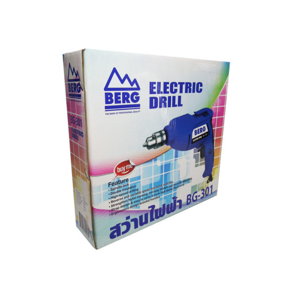 BERG Electric drill model BG 301H 7