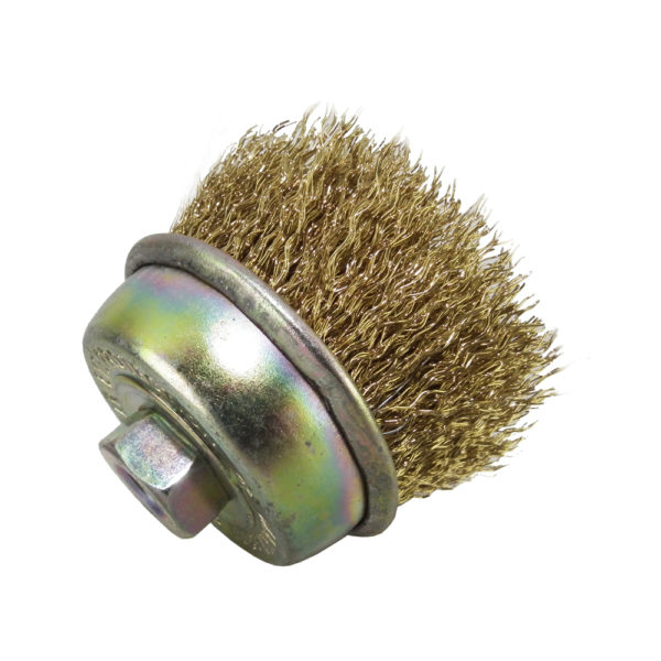 BERG Gold Wire Cup Brush Heavy DutyD 2