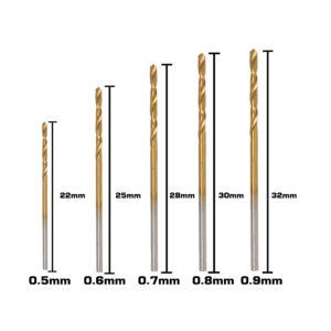 BERG Steel Drill Bits Size B 1 4
