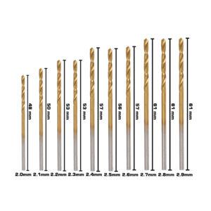 BERG Steel Drill Bits Size D 1 6