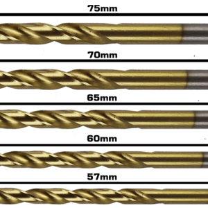 BERG Steel Drill Bits c 5