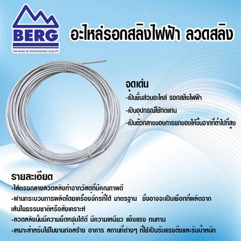 BERG-electric-wire-rope-hoist-spare-parts-NEW