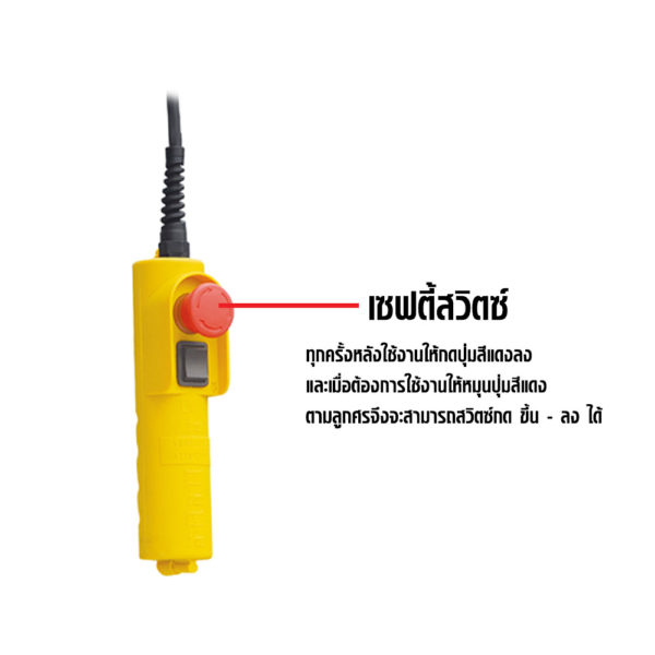 Electric Wire Rope Hoist E 6