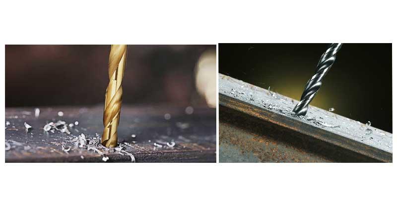 BERG ดอกสว่านเจาะเหล็ก ไฮสปีด เนื้อเหล็กกล้า ชุปไททาเนียม สำหรับงานเจาะเหล็ก และสเตนเลสทั่วไป ผลิตจากเหล็กกล้าชั้นดี มีความแข็งแรง ทนทาน