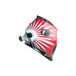 THE SUN welding mask Auto Model TS 600R with stripes E 4