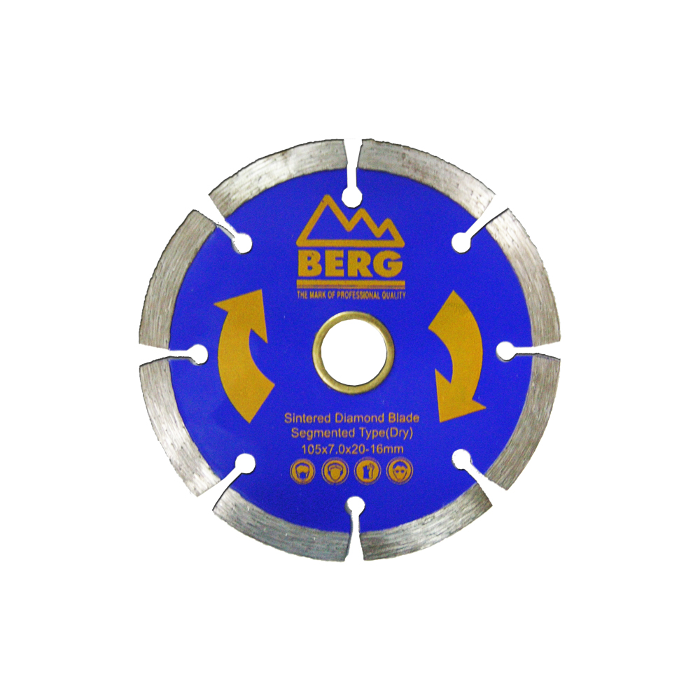 BERG 4 inch diamond cutting blade