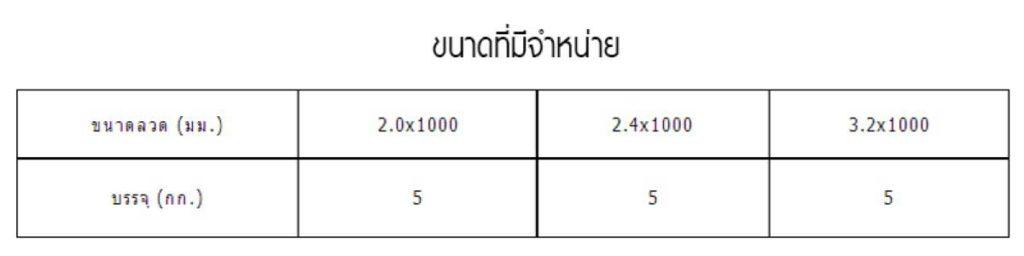 ลวดเชื่อม ER5356 4 New 6