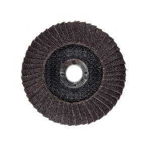 จานทรายเข้ามุม ผ้าทรายเรียงซ้อน BERG 4 นิ้ว ขัดเรียบเนียน ขัดเร็ว เข้ามุม ลบมุม เบามือ สำหรับการ ขัดเหล็ก สแตนเลส