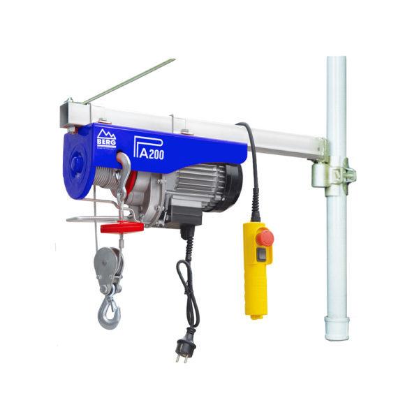 berg-iron-rod-swivel-electric-hoist-hs-model-t600-750