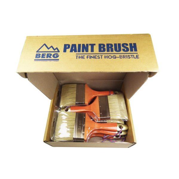 BERG Natural Hair Paint Brush BG 33829 12 pieces box D 3