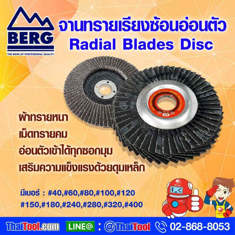 Soft sand disc BERG AA